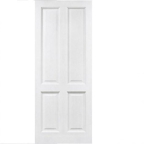 Дверь из массива сосны ПМЦ ДГ 15 Белый лоск