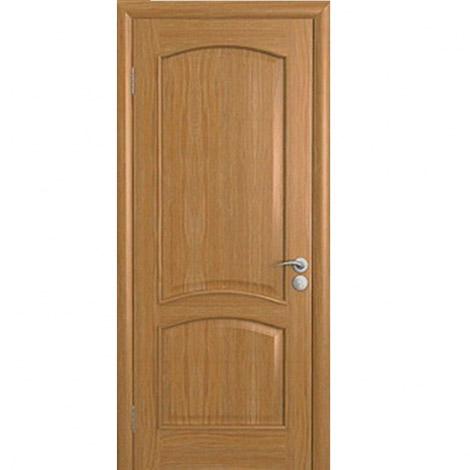 Межкомнатная дверь шпонированная Капри-3 ДГ Дуб натуральный