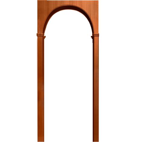 Межкомнатная арка Милано Итальянский орех