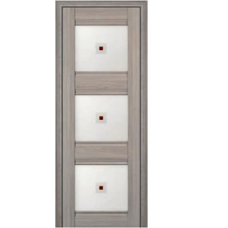 МЕЖКОМНАТНАЯ ДВЕРЬ PROFIL DOORS 4x (стекло узор) Орех Пекан