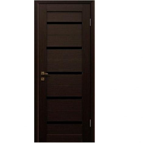 МЕЖКОМНАТНАЯ ДВЕРЬ PROFIL DOORS 7X Венге Мелинга Чёрный триплекс