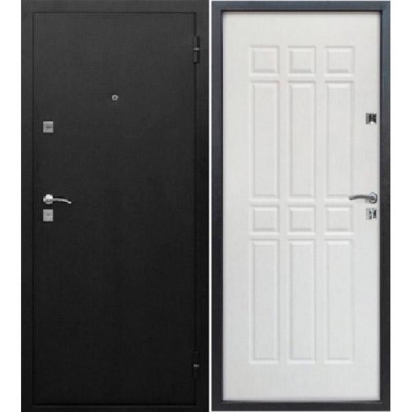 Входная металлическая дверь Сопрано белый ясень