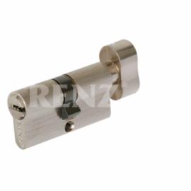 Цилиндровый механизм RENZ CS 60-H PB Латунь блестящая