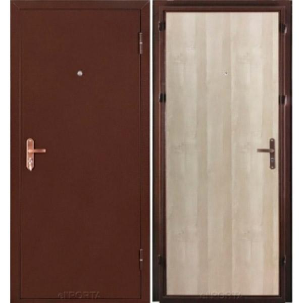 Дверь входная Ультра Лайт Антик Медь/Беленый Дуб