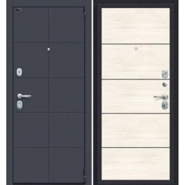 Дверь входная Porta S 10.П50 Graphite Pro/Nordic Oak