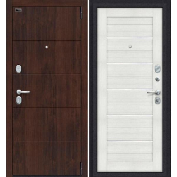Дверь входная Porta S 4.П22 Almon 28/Bianco Veralinga