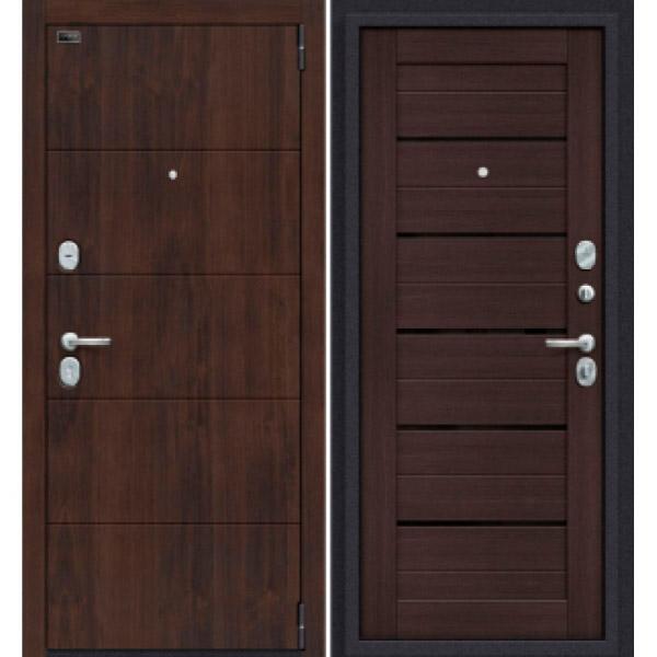 Дверь входная Porta S 4.П22 Almon 28/Wenge Veralinga