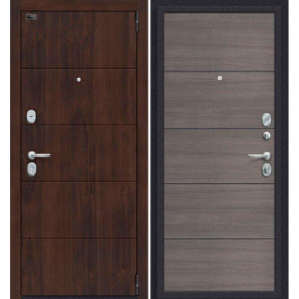 Дверь входная Porta S 4.П50 Almon 28/Grey Veralinga