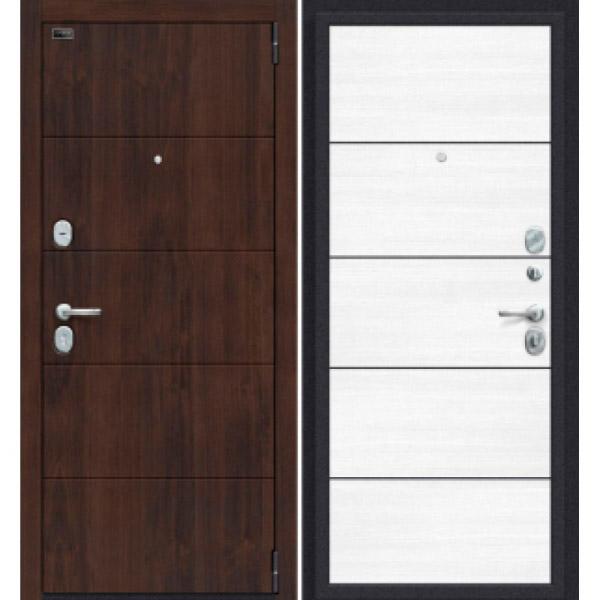 Дверь входная Porta S 4.П50 Almon 28/Snow Veralinga