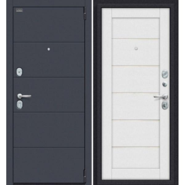 Дверь входная Porta S 10.П50 Graphite Pro/Virgin