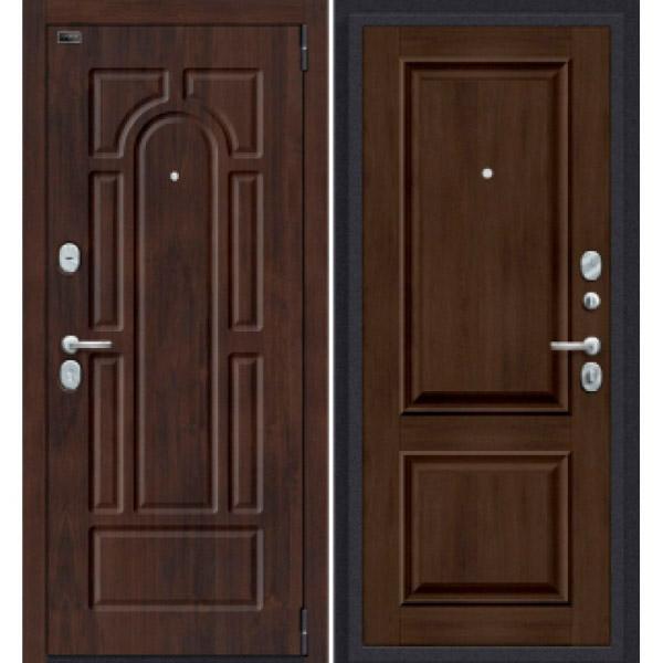 Дверь входная Porta S 55.K12 Almon 28/Dark Oak