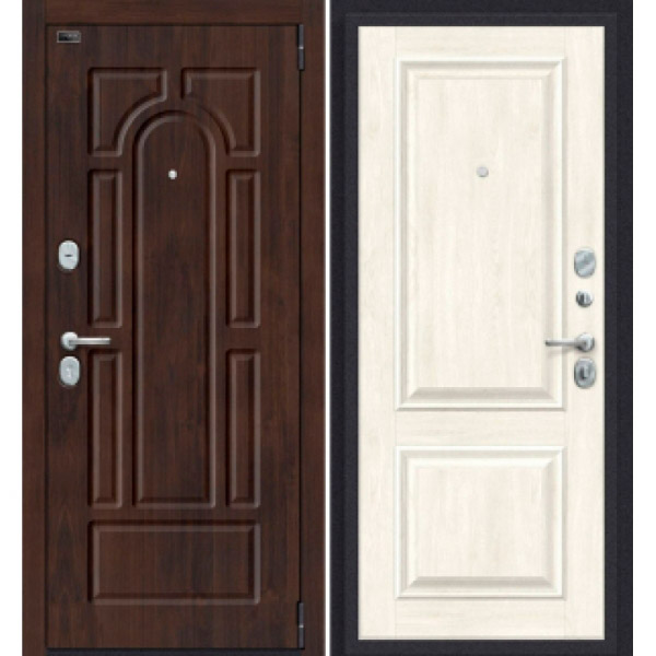 Дверь входная Porta S 55.K12 Almon 28/Nordic Oak
