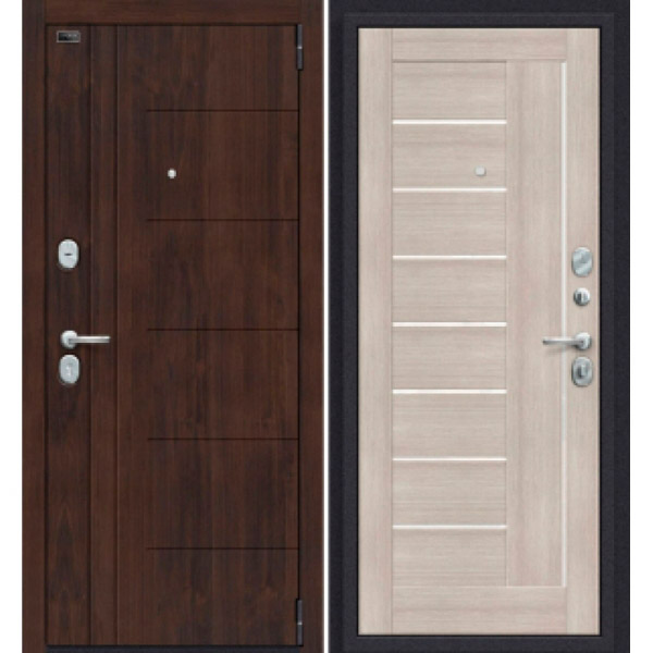Дверь входная Porta S 9.П29 Almon 28/Cappuccino Veralinga