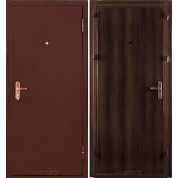 Дверь входная Ультра Лайт Антик Медь/ Венге