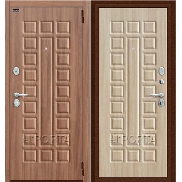 Дверь входная ТВИН Шимо Светлый / Шимо Тёмный