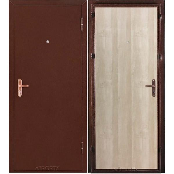 Входная дверь Лайт Беленый дуб