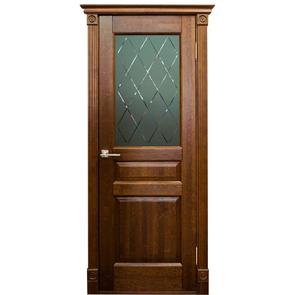 Межкомнатная дверь из массива сосны Ока Валенсия