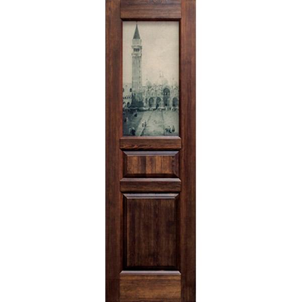 Межкомнатная дверь из массива сосны Ока Венеция сосна