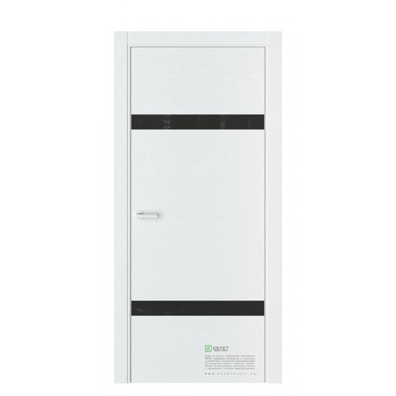 дверь Эстет U3 Premium Белый горизонт